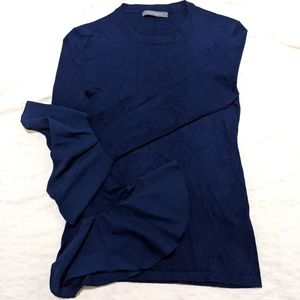 Suzy Shier Sweater with Flared Sleeve